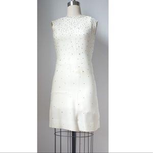 Dresses & Skirts - Vintage crystal embellished cocktail dress